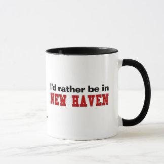 Estaría bastante en New Haven Taza