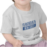 Estaría bastante en New Jersey Camiseta