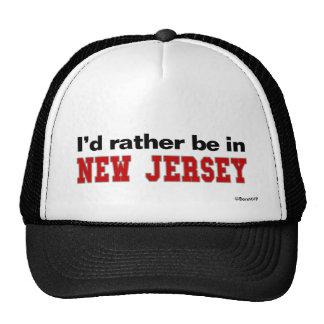 Estaría bastante en New Jersey Gorros