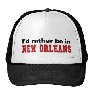 Estaría bastante en New Orleans Gorras
