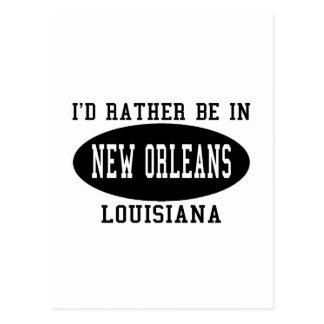 Estaría bastante en New Orleans Tarjetas Postales