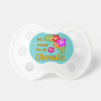Estaría bastante en Olowalu Hawaii Chupete De Bebé