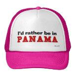Estaría bastante en Panamá Gorros