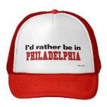 Estaría bastante en Philadelphia Gorras