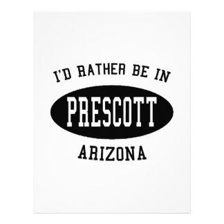 Estaría bastante en Prescott Membrete A Diseño