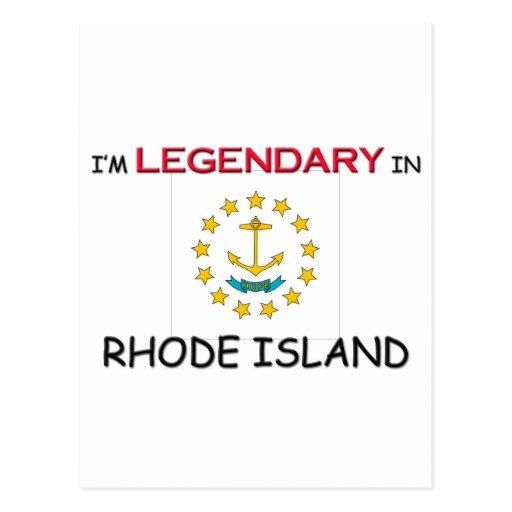Estaría bastante en RHODE ISLAND Tarjetas Postales
