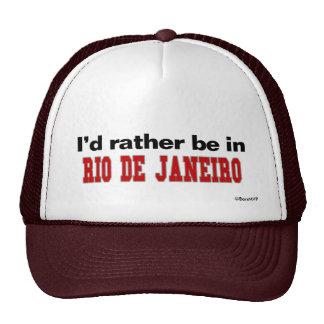 Estaría bastante en Río de Janeiro Gorras De Camionero