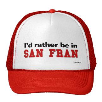 Estaría bastante en San Fran Gorros Bordados