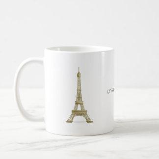 Estaría bastante en señal de la torre Eiffel de Taza Clásica