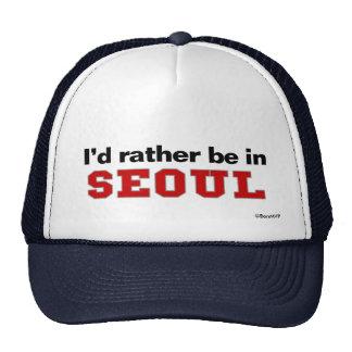 Estaría bastante en Seul Gorros