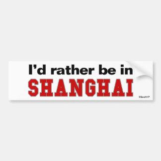 Estaría bastante en Shangai Pegatina Para Auto