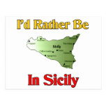 Estaría bastante en Sicilia Postales