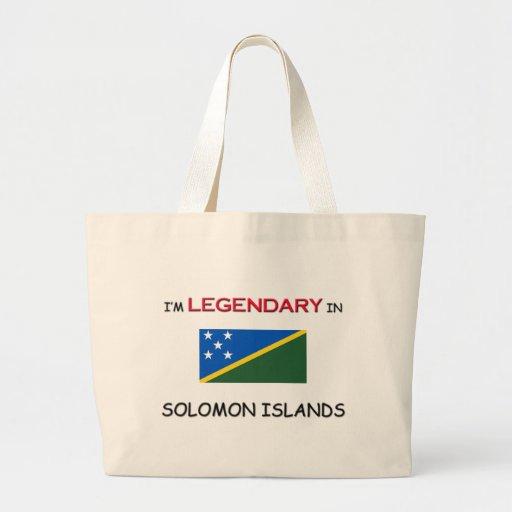 Estaría bastante en SOLOMON ISLAND Bolsas Lienzo