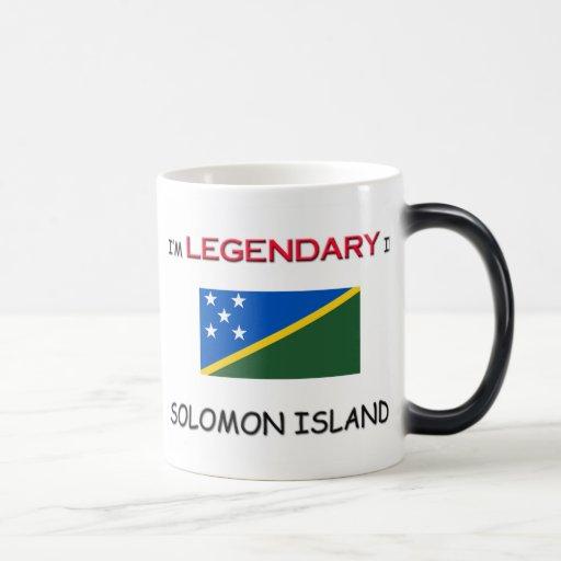 Estaría bastante en SOLOMON ISLAND Tazas