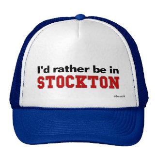 Estaría bastante en Stockton Gorras