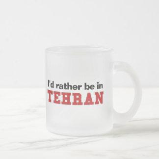Estaría bastante en Teherán Taza De Café