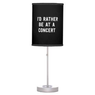 Estaría bastante en un concierto