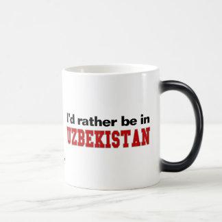 Estaría bastante en Uzbekistán Taza Mágica