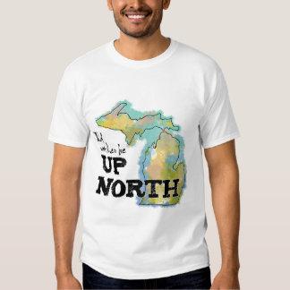 Estaría bastante encima de Michigan del norte Playera