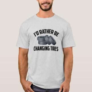 Estaría cambiando bastante los neumáticos playera