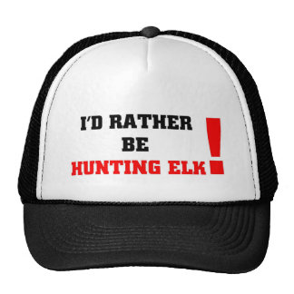 Estaría cazando bastante alces gorra