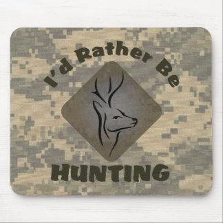 Estaría cazando bastante el logotipo de Camo de Alfombrilla De Ratón