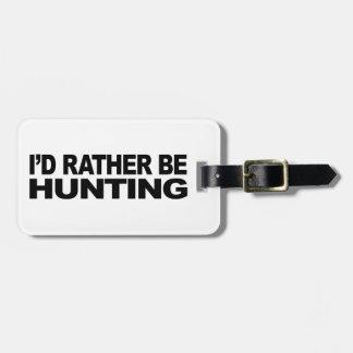 Estaría cazando bastante etiqueta de maleta