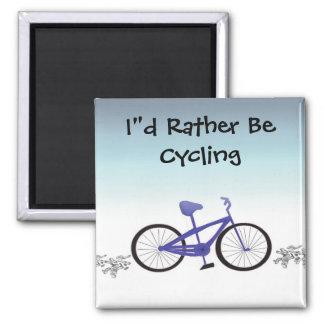 Estaría completando un ciclo bastante imán cuadrado