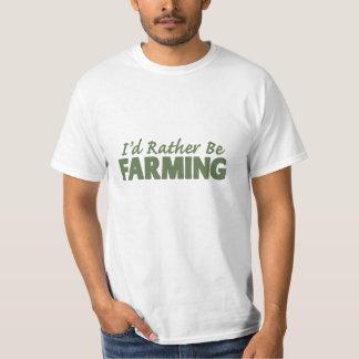 ¡Estaría cultivando bastante! (cultivo virtual) Remera