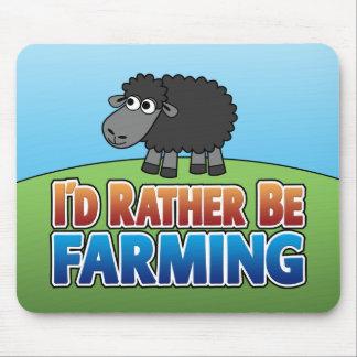 ¡Estaría cultivando bastante! (Cultivo virtual) Alfombrillas De Ratones