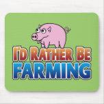 ¡Estaría cultivando bastante! (cultivo virtual) Alfombrillas De Raton