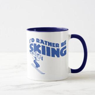 Estaría esquiando bastante (la hembra)