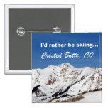 Estaría esquiando bastante, la mota con cresta, CO Pins