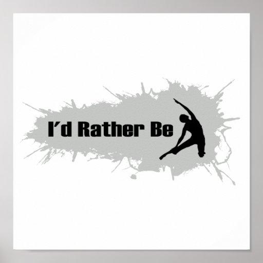 Estaría haciendo bastante yoga posters