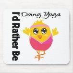 Estaría haciendo bastante yoga alfombrilla de raton