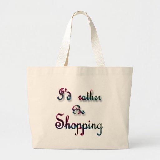 Estaría haciendo compras bastante bolsa