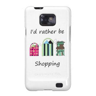 Estaría haciendo compras bastante samsung galaxy SII fundas
