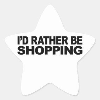 Estaría haciendo compras bastante calcomanías forma de estrellaes