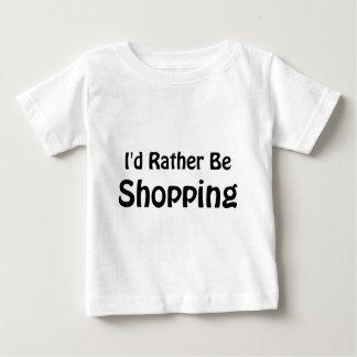 Estaría haciendo compras bastante playeras