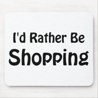 Estaría haciendo compras bastante tapetes de raton