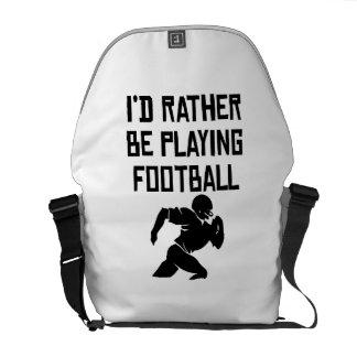 Estaría jugando bastante a fútbol bolsa messenger