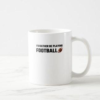 Estaría jugando bastante a fútbol taza clásica