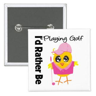Estaría jugando bastante a golf pin cuadrada 5 cm