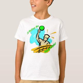 Estaría jugando bastante a voleibol playera