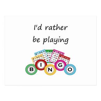 Estaría jugando bastante bingo postal