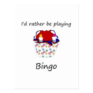 Estaría jugando bastante el bingo (el bolso) postal