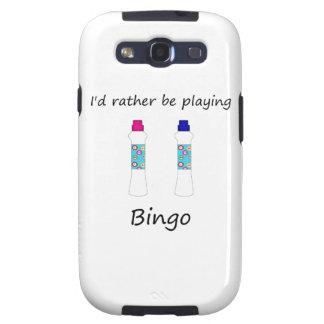 Estaría jugando bastante el bingo (los embadurnado samsung galaxy s3 funda
