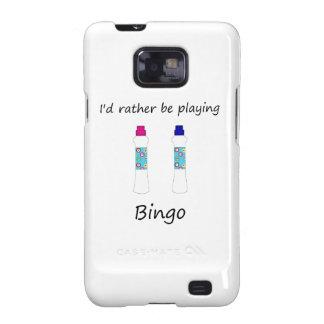 Estaría jugando bastante el bingo (los samsung galaxy s2 funda