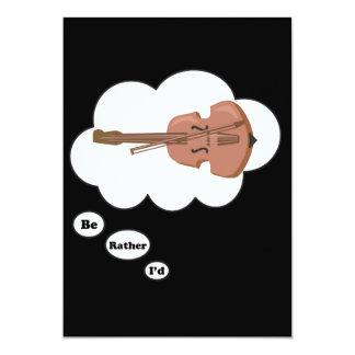 estaría jugando bastante el violín 3 invitaciones personales