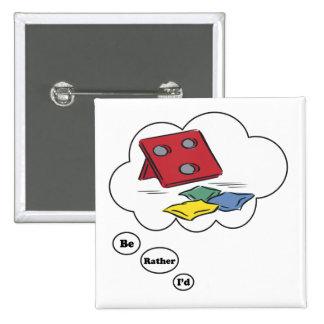 Estaría jugando bastante los Beanbags Pins